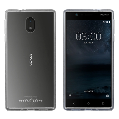 Metal-Slim Nokia 3 時尚超薄TPU透明軟殼