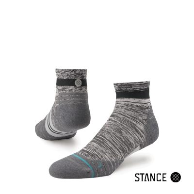 STANCE UNCOMMON SOLIDS QTR-男襪-200針慢跑機能襪