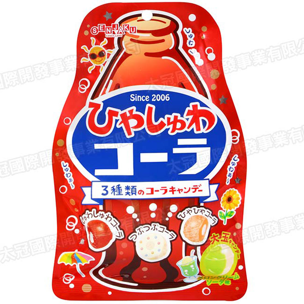 扇雀飴 清涼可樂風味糖(71g)