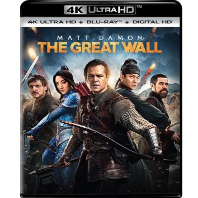 長城 4K UHD + BD (雙碟限定版) 藍光 BD