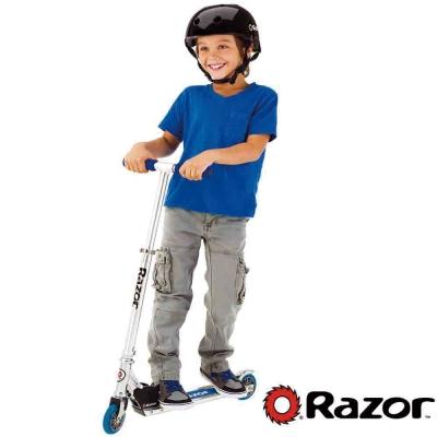 【 美國 Razor 】 A Scooter 兒童 滑板車 / 平衡車 - 藍色