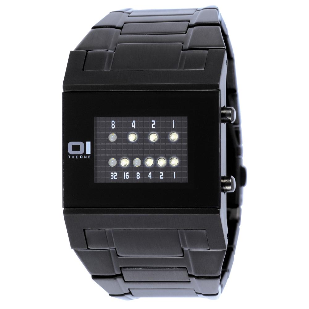THE ONE 勁彩指標腕錶(IP黑/48mm)