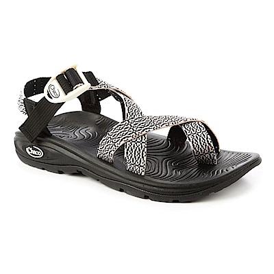 美國Chaco。女 冒險旅遊涼鞋-夾腳款CH-EZW02HD50 (黑色翠花)