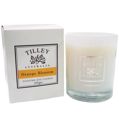 Tilley百年特莉 橙花香氛大豆蠟燭240g