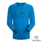 Arcteryx 始祖鳥 24系列 男 有機棉長袖T恤 藍