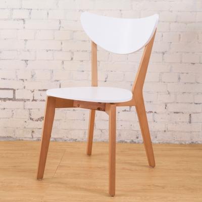 Boden-艾莉森白色餐椅(單張)