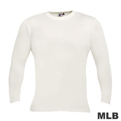 MLB-圓領熱力棉T恤-白(男)