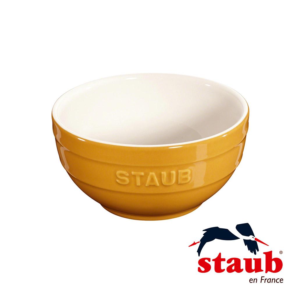 法國Staub 陶瓷碗 12cm-芥末黃(8H)