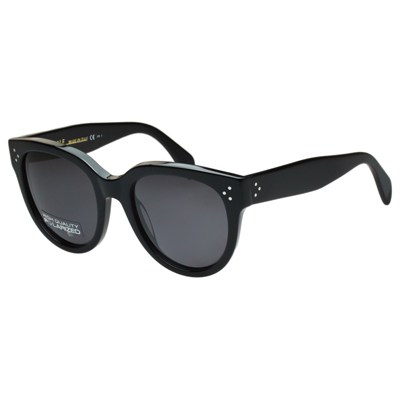 CELINE-時尚太陽眼鏡(共黑琥珀2色)