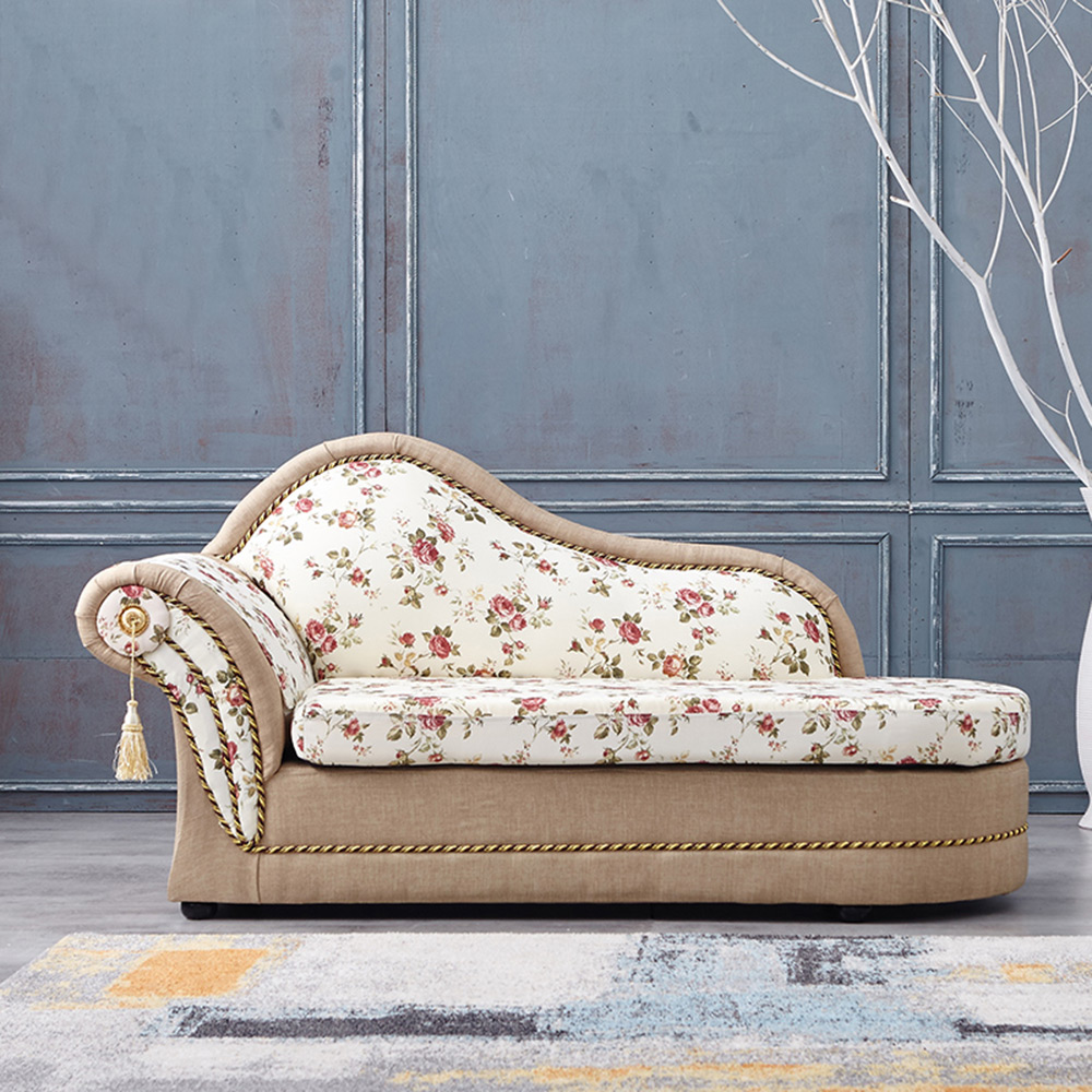 COUCH-金典玫瑰貴妃坐躺椅(左右型可選)