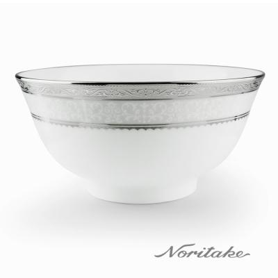 Noritake 華麗年代麵碗-銀(16cm)