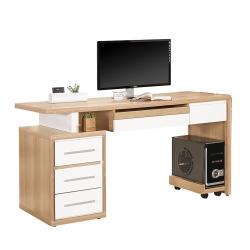 ROSA羅莎 布爾文5尺電腦桌組(5尺電腦主桌+主機架)