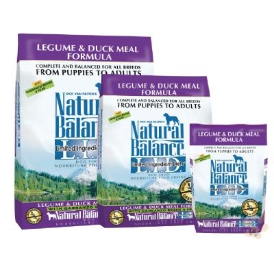 Natural Balance 低敏無穀鷹嘴豆鴨肉配方犬糧4.5磅