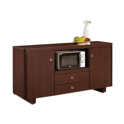 Bernice-泰德5.1尺碗盤收納餐櫃-152x46x81cm