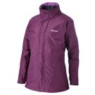 【Berghaus貝豪斯】女款GT防水透氣IA外套外套H22F10-紫