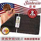 【福利品】美國Sunbeam夏繽 瞬熱保暖墊(核桃色)