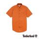 Timberland 男款焦橙色素面單口袋短