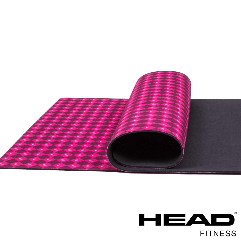 HEAD 天然絨布橡膠瑜珈墊 4mm