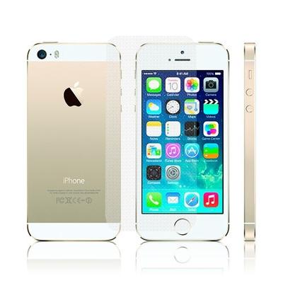 D&A 蘋果 iPhone 5/5S/SE 專用日本頂級螢幕+機身保護貼...