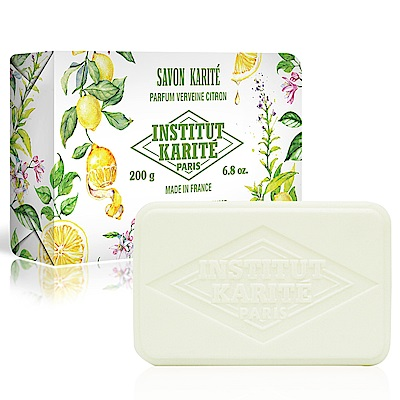 Institut Karite Paris巴黎乳油木 檸檬馬鞭草花園香氛手工皂200g
