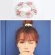 梨花HaNA韓國柔美小玫瑰環繞花園珍珠髮圈
