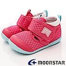 日本月星頂級童鞋-HI系列速乾款-BNI94粉(寶寶段)