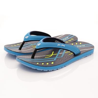 San Fang-GP同級鞋款-夾腳涼拖系列-5251M22淺藍(男)