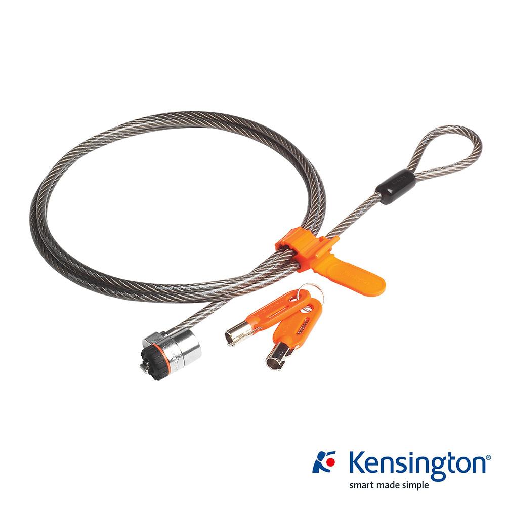 Kensington 強化鋼纜電腦鎖(鑰匙型)- 64068F 新版