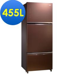 SAMPO聲寶 455L 1級變頻3門電冰箱 SR-A46GDV(R7) 琉璃棕
