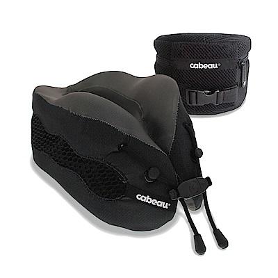 CABEAU-酷涼記憶棉頸枕2.0-霧黑