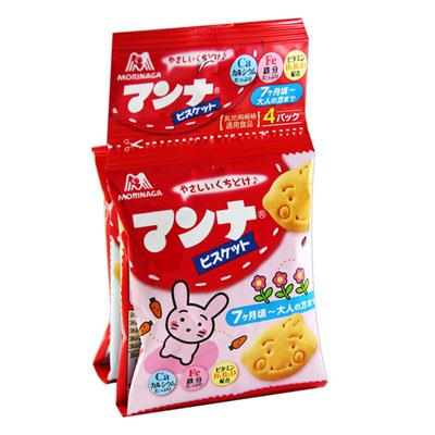 森永製果 MANNAR可愛動物造型4連餅(52g)