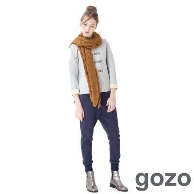 gozo-棒球風原色運動縮口褲-二色