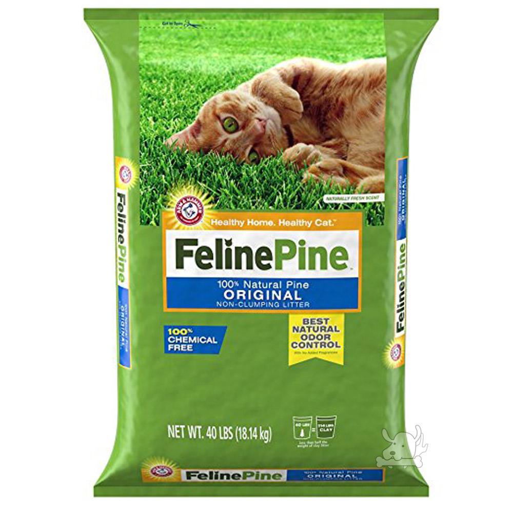 Feline Pine斑比 松木砂 40LB / 18.14kg x 1