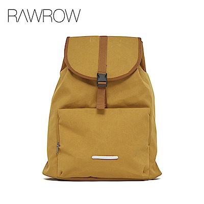 RAWROW-漫遊系列-15吋簡約束口後背包-大地駝-RBP231CA