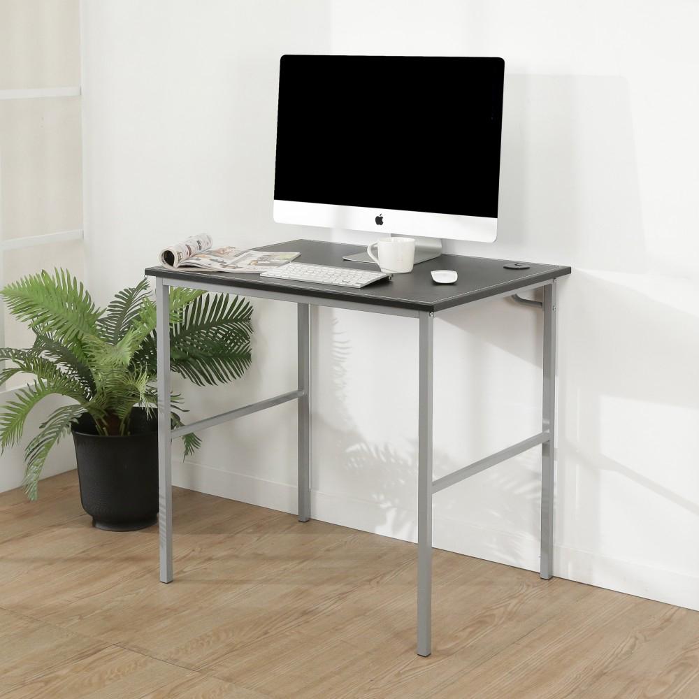 BuyJM低甲醛粗管仿黑馬鞍皮工作桌/寬80cm-DIY