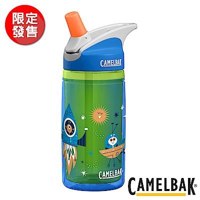 《CAMELBAK》兒童吸管雙層隔溫運動水瓶 太空探險 400ml