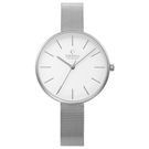 OBAKU 純粹經典三針時尚米蘭腕錶-V211LXCIMC/36mm