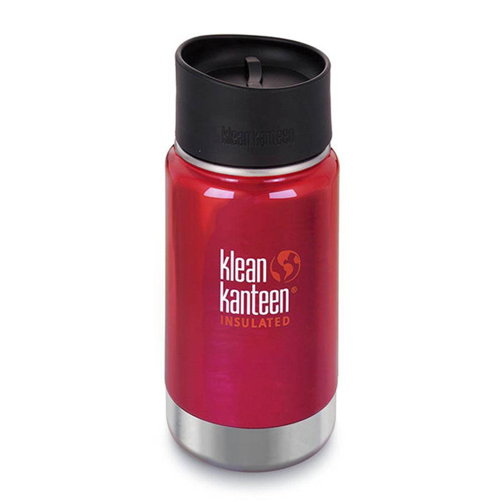 美國Klean Kanteen寬口保溫鋼瓶355ml-彩椒紅