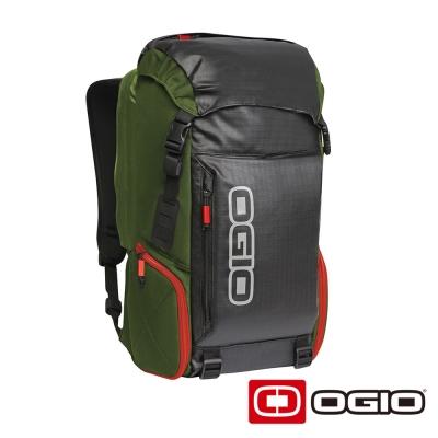 OGIO THROTTLE 15吋 高效能戶外後背包-綠色