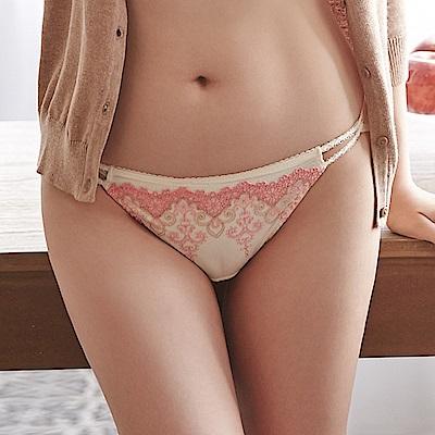 蕾黛絲-高脅邊真水-低腰內褲 M-L(海貝橘)
