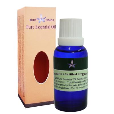 Body Temple 有機香草(Vanilla)芳療精油30ml
