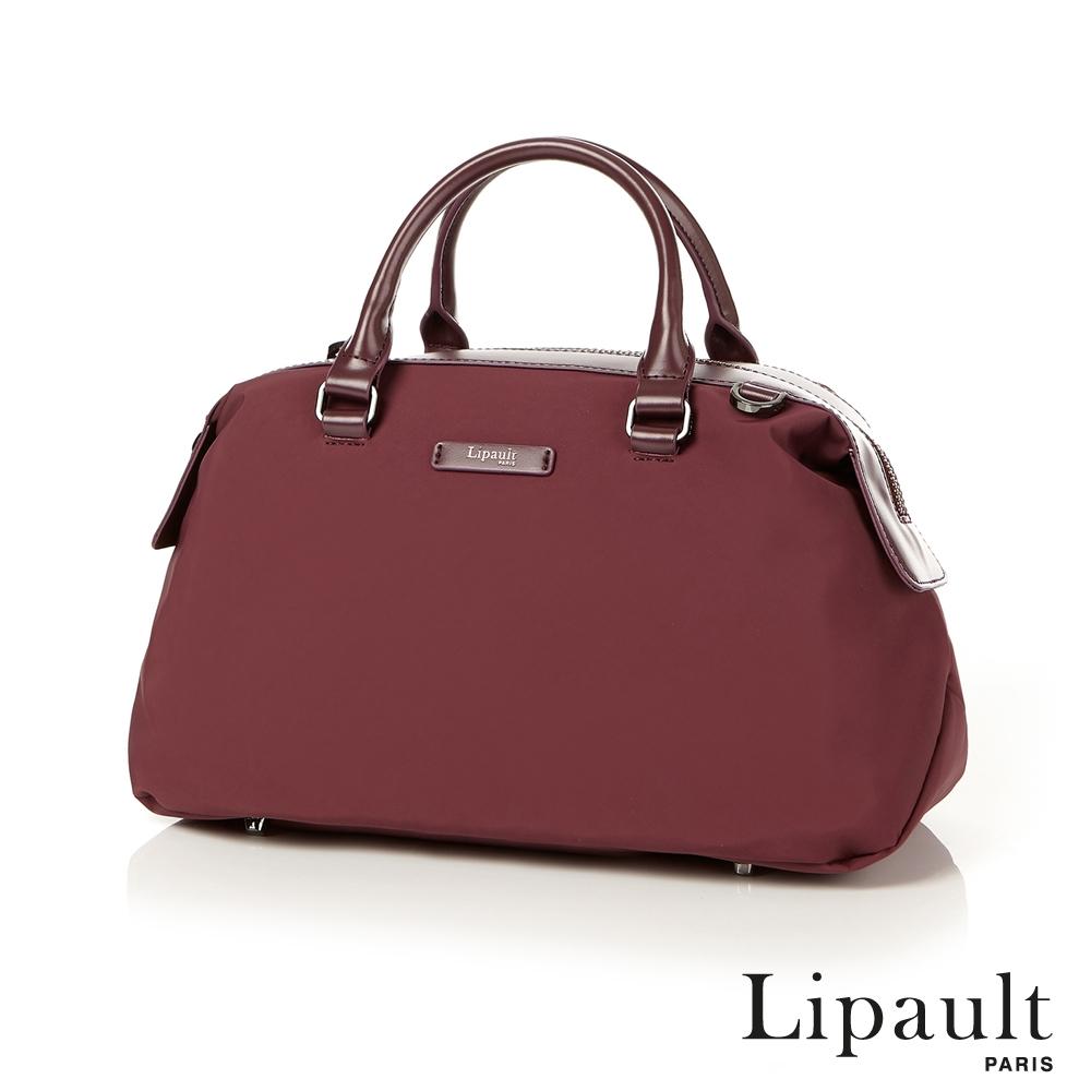 法國時尚Lipault 輕量保齡球包M(深酒紅)