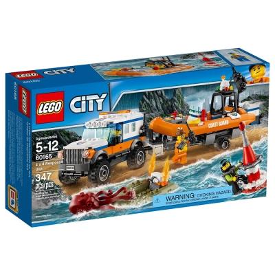 LEGO樂高 城市系列 60165 海岸巡防四驅救援車