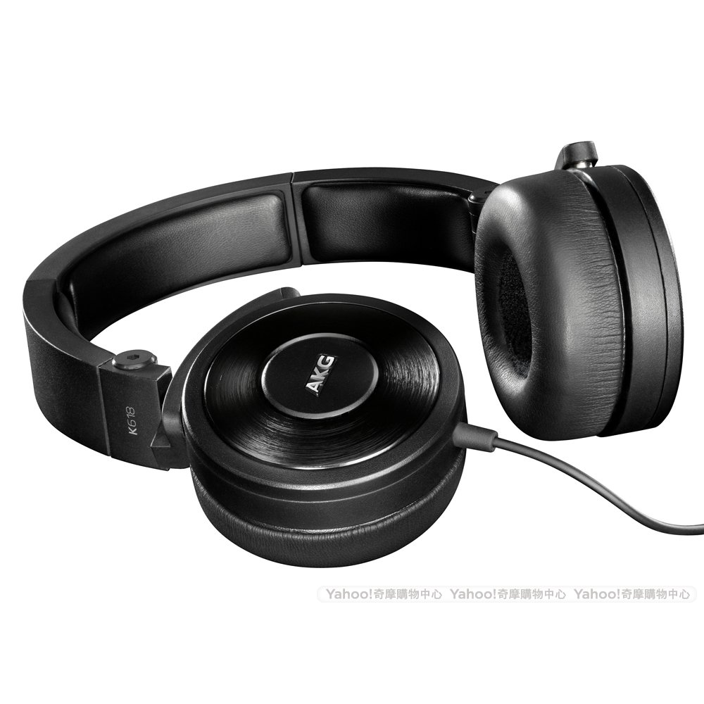 AKG K618 DJ 監聽用耳罩式耳機-黑