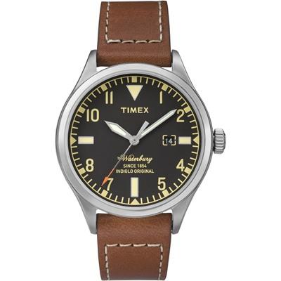 TIMEX x RED WING 限量聯名Waterbury系列潮流手錶/40mm