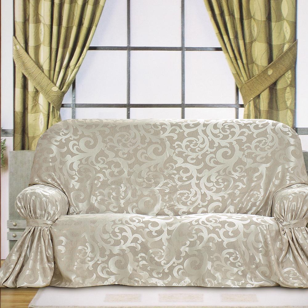 《布安於室》蔓澤DIY1人座沙發罩-銀灰