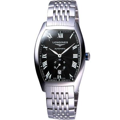 LONGINES Evidenza 羅馬風格小秒針機械錶-33x38.7mm