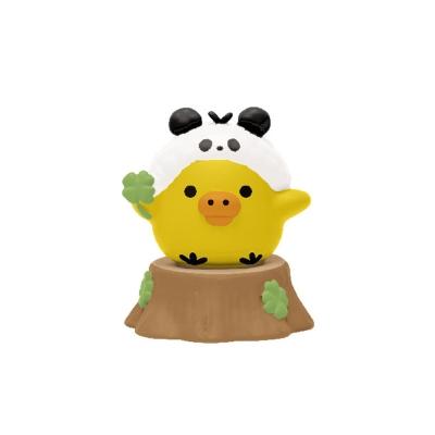拉拉熊我愛大貓熊系列迷你盒玩。小雞