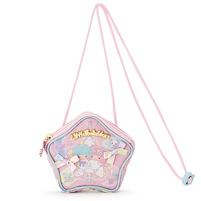 Sanrio 雙星仙子彩虹魔法系列星星造型零錢包附頸掛繩