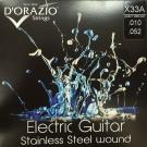 D'ORAZIO 義大利手工製 不鏽鋼材質 電吉他弦(No.X33A)